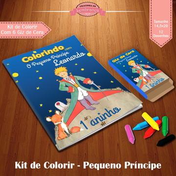 Kit de Colorir - Pequeno Príncipe