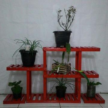 Expositor para plantas/ Jardim Suspenso/ Floreira De Chão