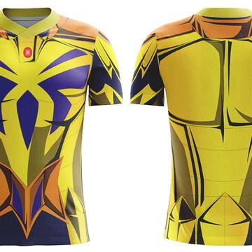 Cavaleiros do Zodíaco Armadura de Ouro de Câncer´- Camiseta