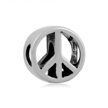Berloque Aço inox Simbolo PAZ