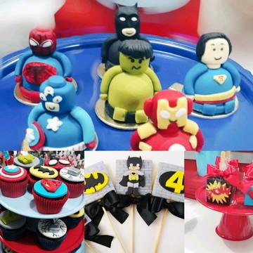 Kit Festa Doces Personalizados | Heróis |