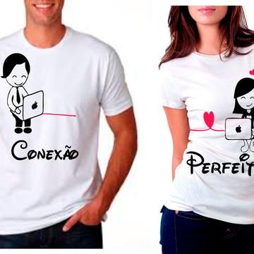 Camisa Conexão Perfeita Namorados