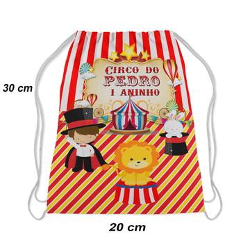 Mochilinha aniversario festa circo