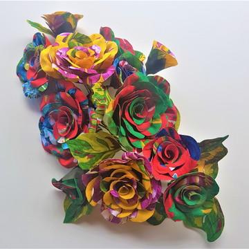 Flor de Chita - topo de bolo