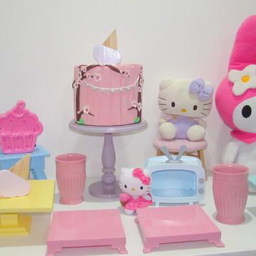 Aluguel kit festa Hello Kitty