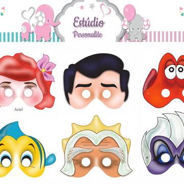 Máscaras A Pequena Sereia