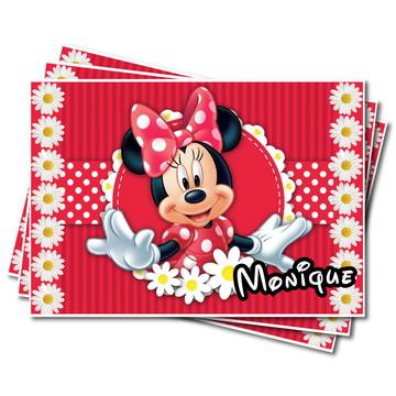 Papel de Arroz personalizado Minnie Margargaridas - digital