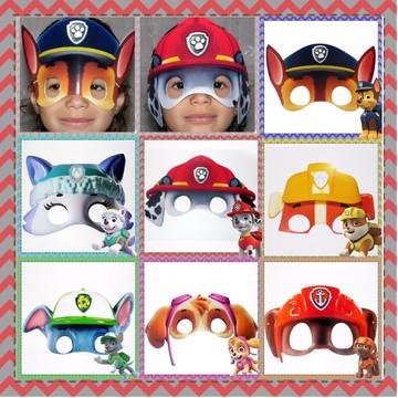 Máscara Personalizada Qualquer Tema