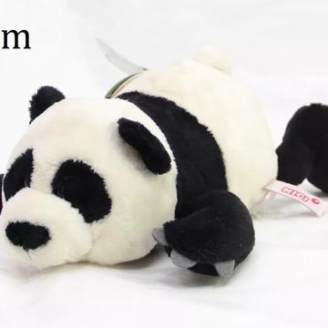 Urso Panda de Pelucia Naninha 20cm AntiAlergico Casa do Urso