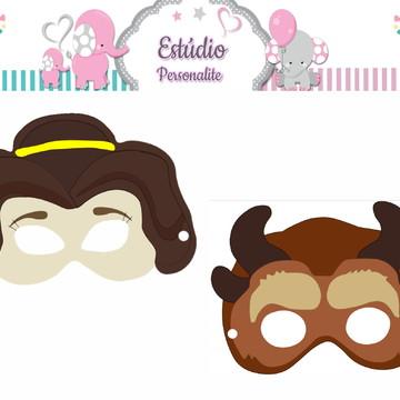 Máscaras A Bela e a Fera