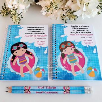 Caderno Dia dos Professores - Natação Feminino