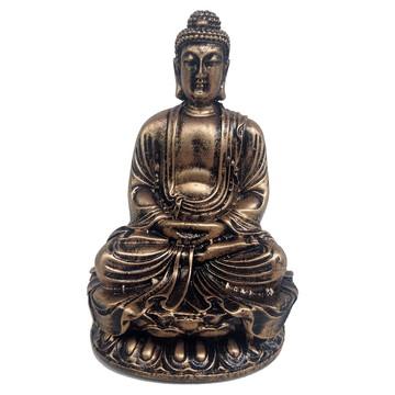 Buda Sakyamuni 11 Cm dourado