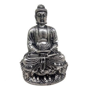 Buda Sakyamuni 11 Cm prateado