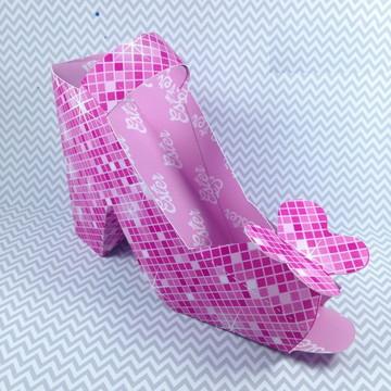 Arquivo Silhouette Sapato feminino