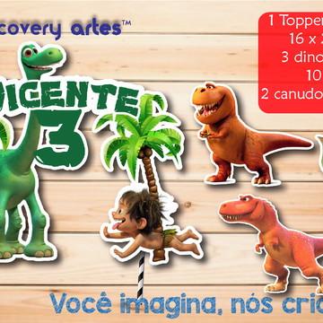 Topper de Bolo O Bom Dinossauro
