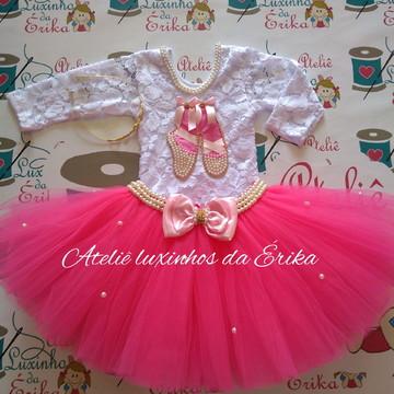 5c41008f1d Roupa Bailarina Luxo Adulto