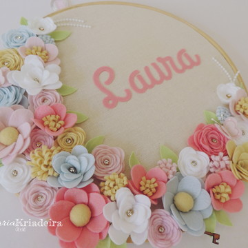 Bastidor Floral - 30 cm