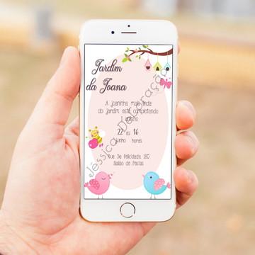 Convite Digital Jardim Encantado 1