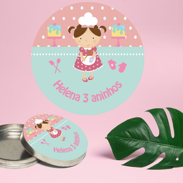 Adesivo Para Latinha Mint To Be Confeitaria
