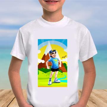 Camiseta lucas neto e os aventureiros