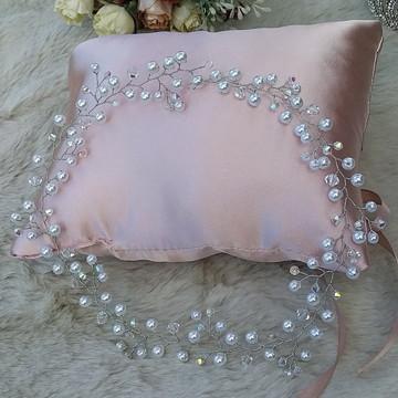 Tiara de pérolas para noivas