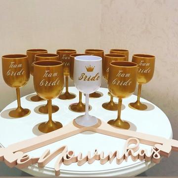 Taças Vinho em Acrilico