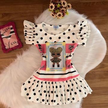 Vestido LOL Moda Blogueirinha tam 1 ao 10
