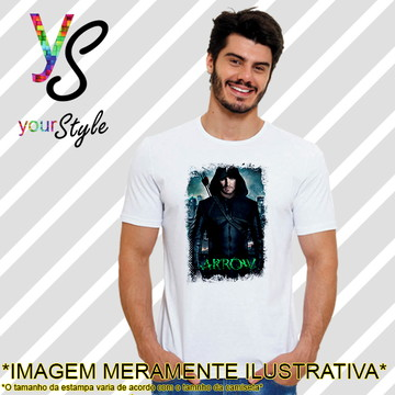 Camiseta Série Arrow Oliver Queen