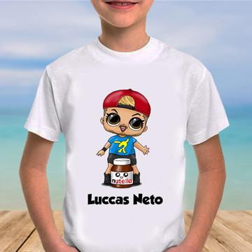Camiseta lucas neto lol surprise