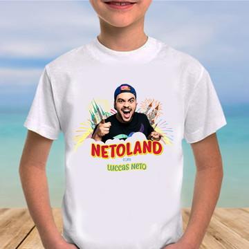 Camiseta lucas neto netoland
