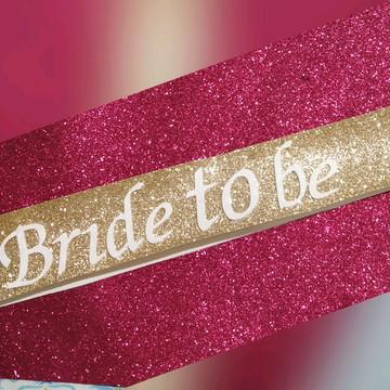 Faixa de Miss para noiva