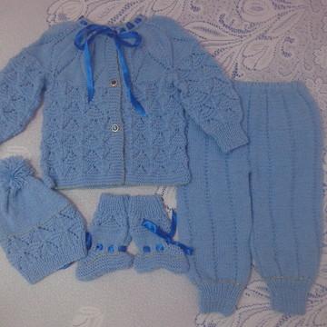 roupa bebe trico
