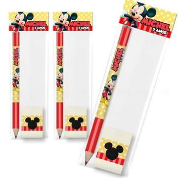 Lembrancinha Kit Escolar Festa Mickey