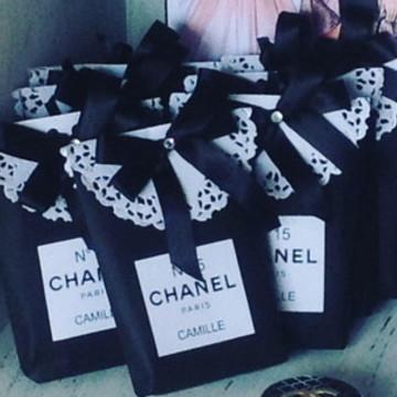 Saquinho personalizada Chanel