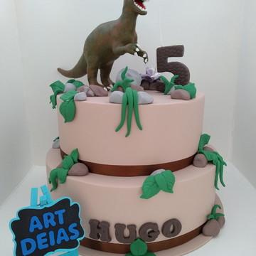 Bolo Fake Dinossauro