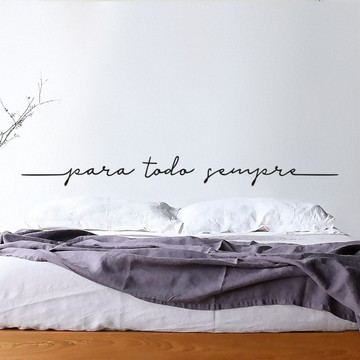 Cabeceira Adesiva Para Todo Sempre (cama casal)
