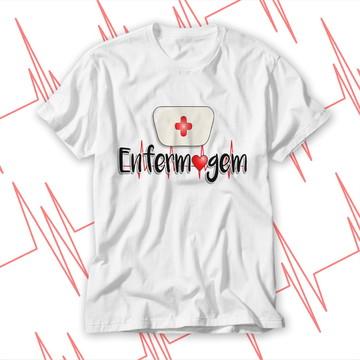 Camisa blusas enfermagem profissão nova