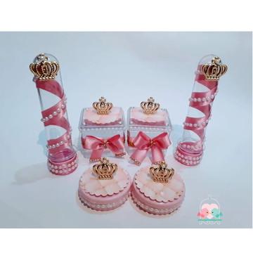 kit lembrancinhas festa realeza menina