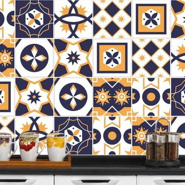 Adesivo de Azulejo 15x15 - 24un (Lavável de Verdade) Argélia