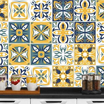 Adesivo de Azulejo 15x15 - 24un (Lavável de Verdade) Croácia
