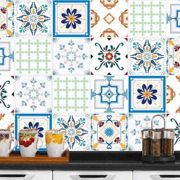 Adesivo de Azulejo 15x15 - 24un (Lavável de Verdade) Panamá