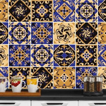 Adesivo de Azulejo 15x15-24un (Lavável de Verdade) Zimbabue