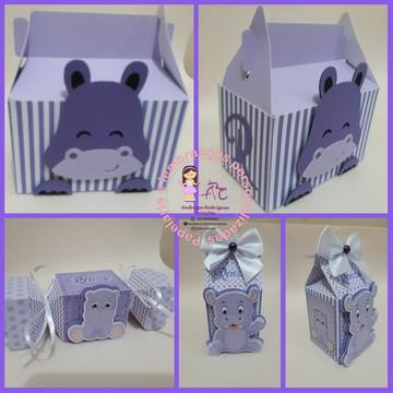 Kit Arquivo de corte Hipopótamo
