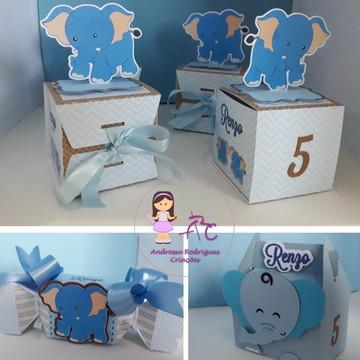 Kit Arquivo de corte Elefante