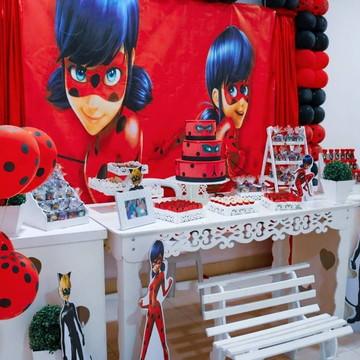 Aluguel decoração Tema LadyBug