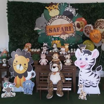 Aluguel decoração Tema Safari Rústica