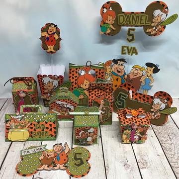 Arquivo de Corte Kit Festa Os Flintstones
