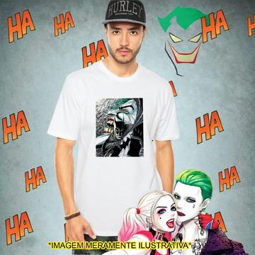 Camiseta Coringa Batman Desenho