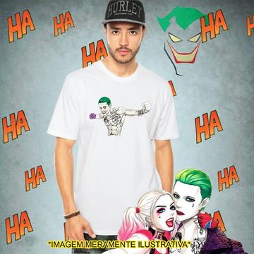 Camiseta Coringa Esquadrão Suicida Batman Herói