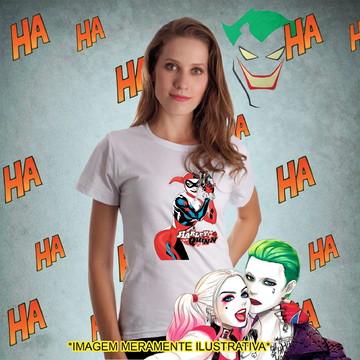 Camiseta Arlequina Coringa Batman
